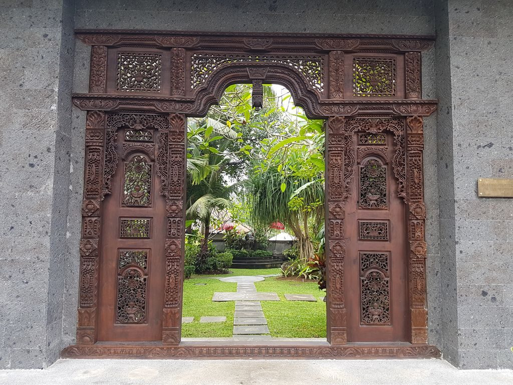 Sukhavati Ayurvedic Retreat Bali - Doorway