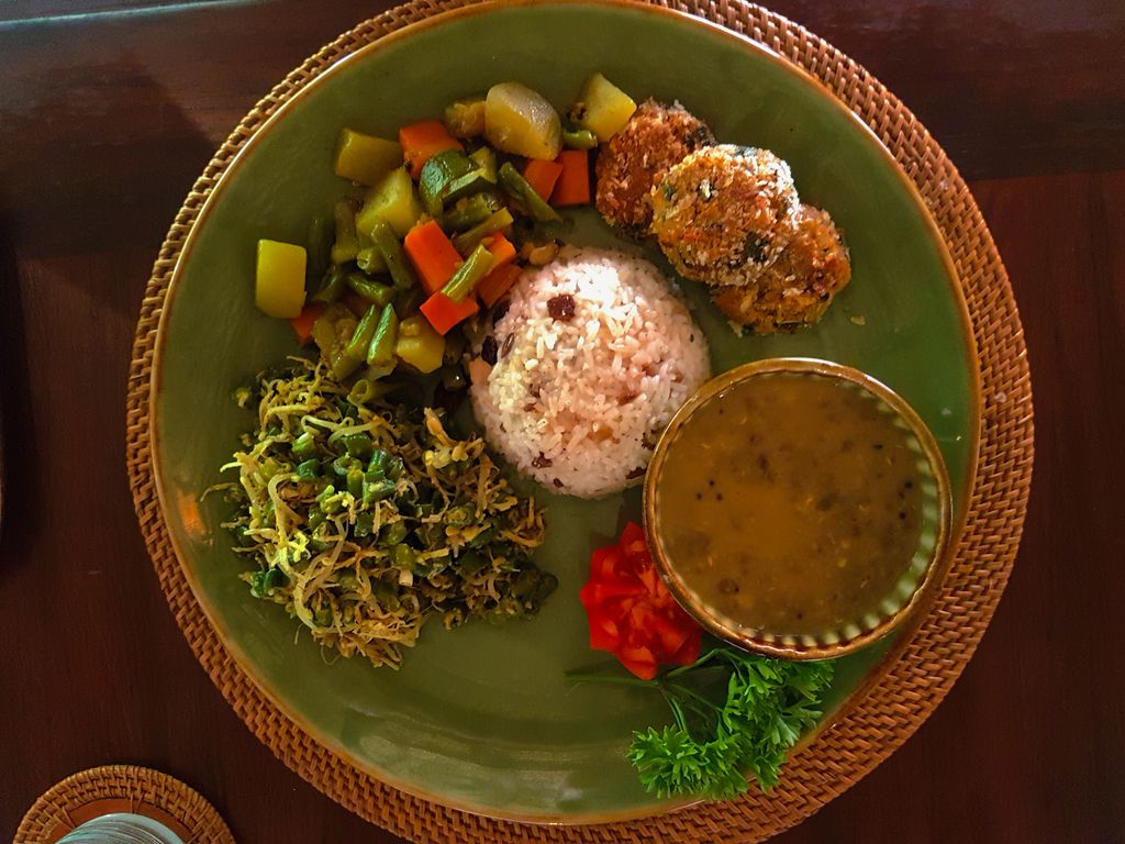 Sukhavati Ayurvedic Retreat Bali - lunch