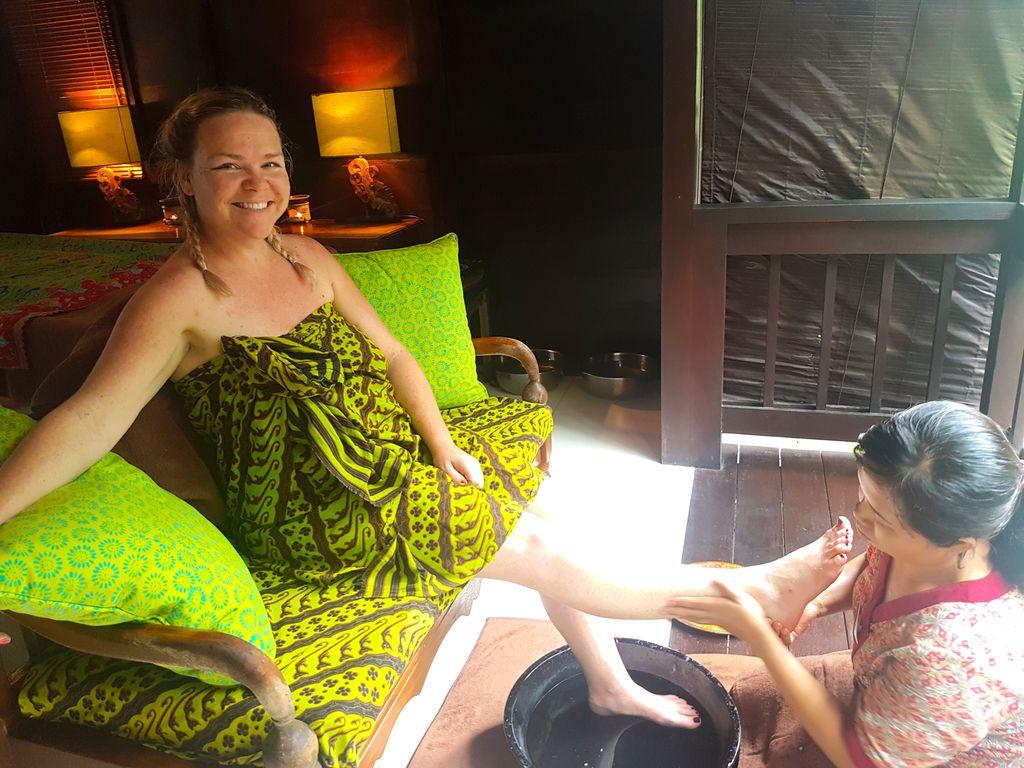 Sukhavati Ayurvedic Retreat Bali - spa time