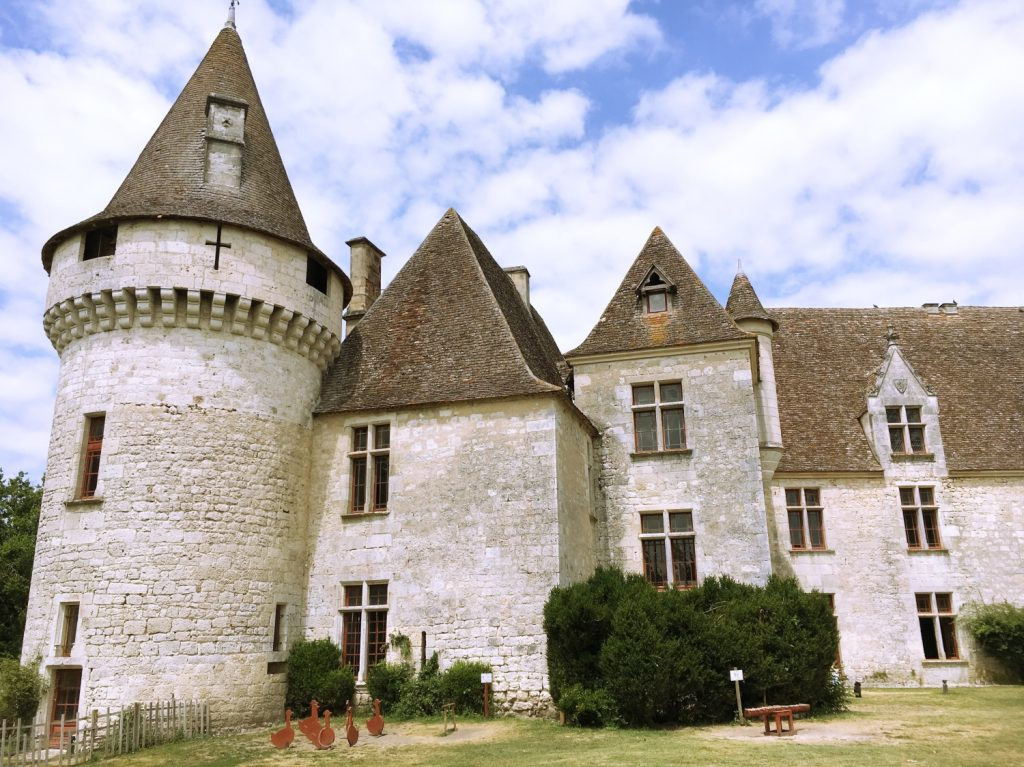 Things to with kids in France - Château de Bridoire