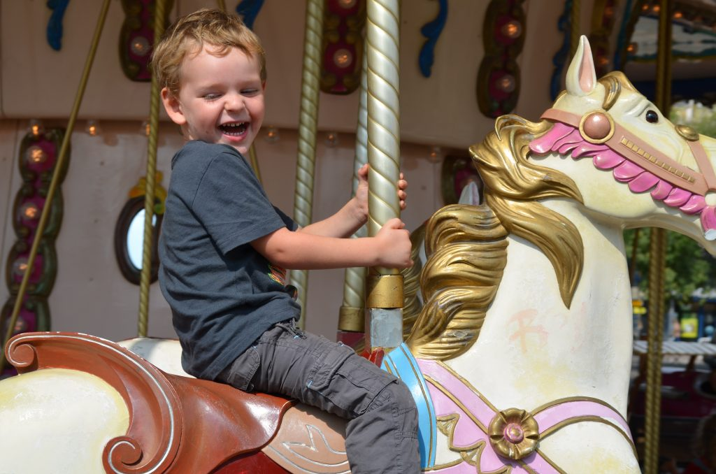 Things to with kids in France - merry go round