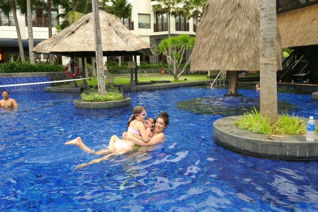Kids Choose Holiday Inn Bali Benoa - pool fun