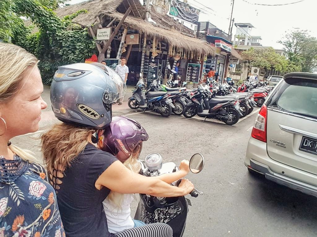 Things To Do In Ubud - scooter ride