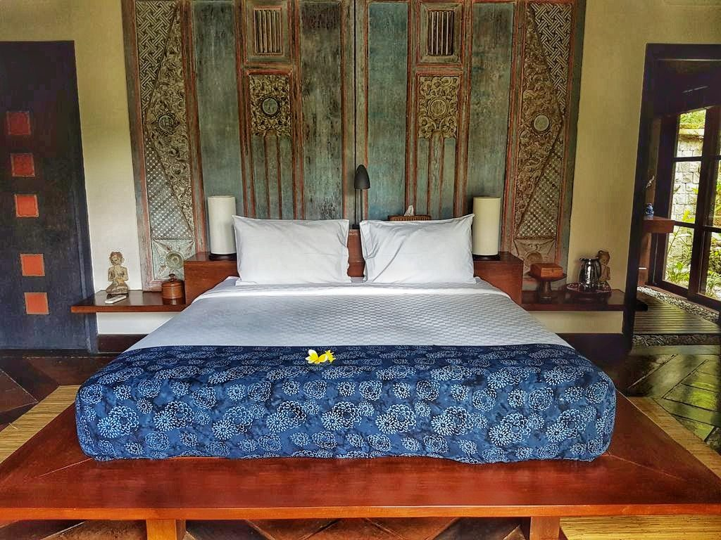 Ubud villa - bedroom