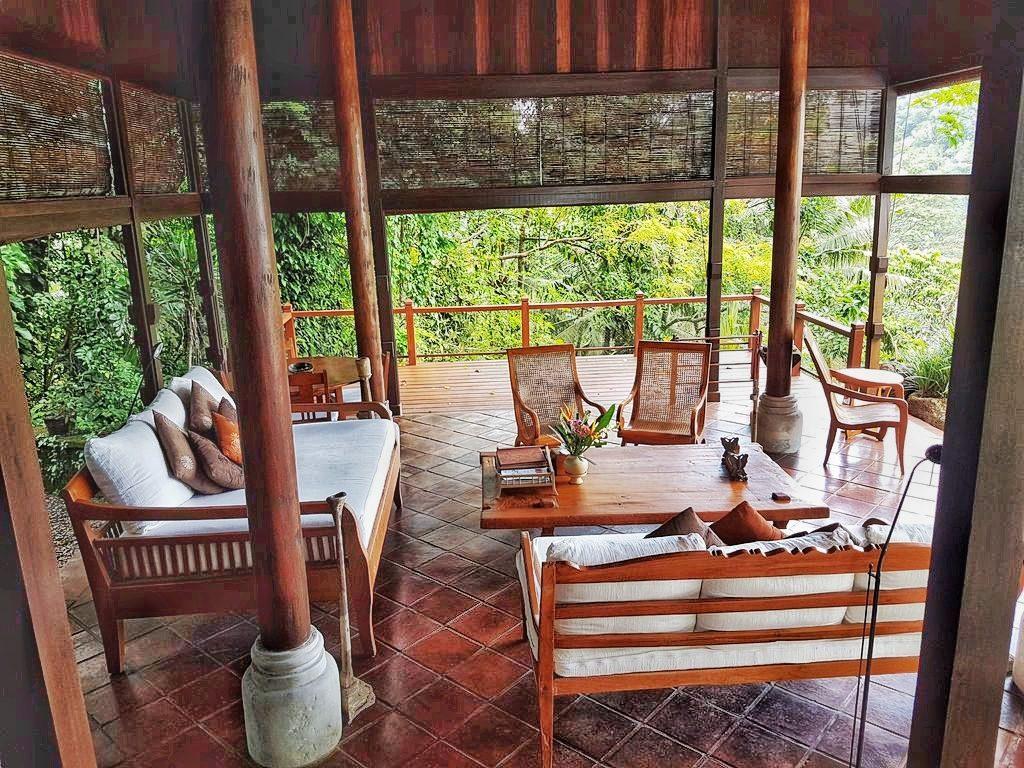 Ubud villa - Lounge