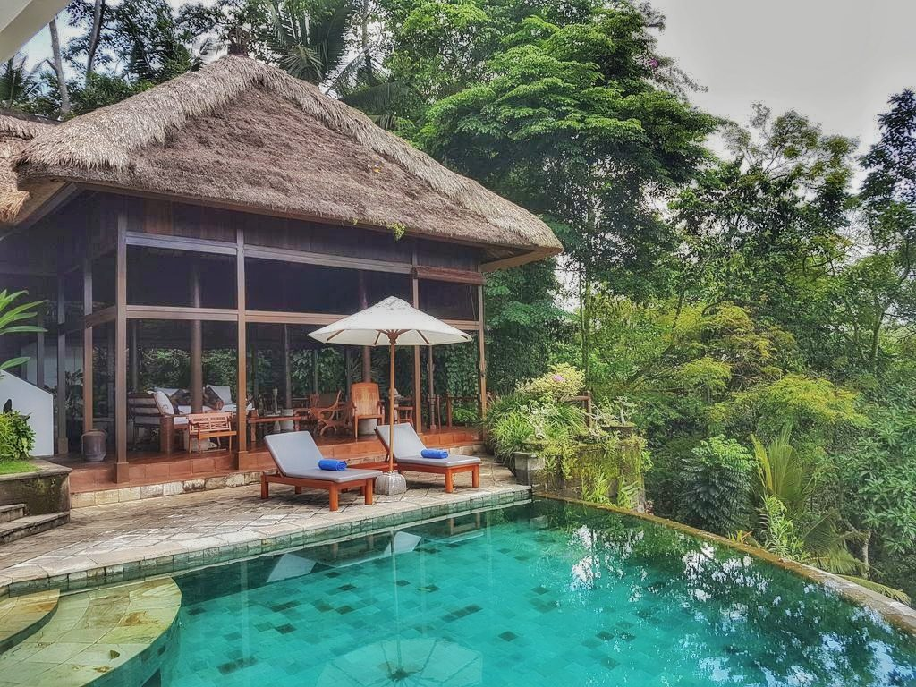 Ubud villa - pool