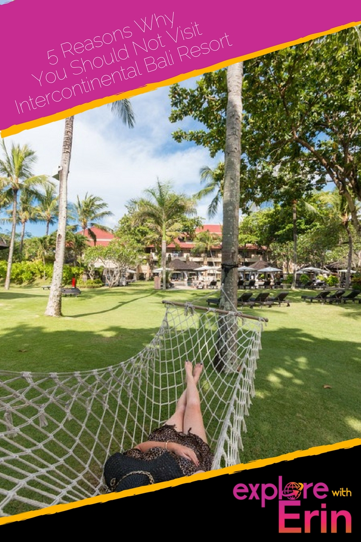 Pin Intercontinental Bali Resort - Enjoy a luxury stay in Jimbaran
