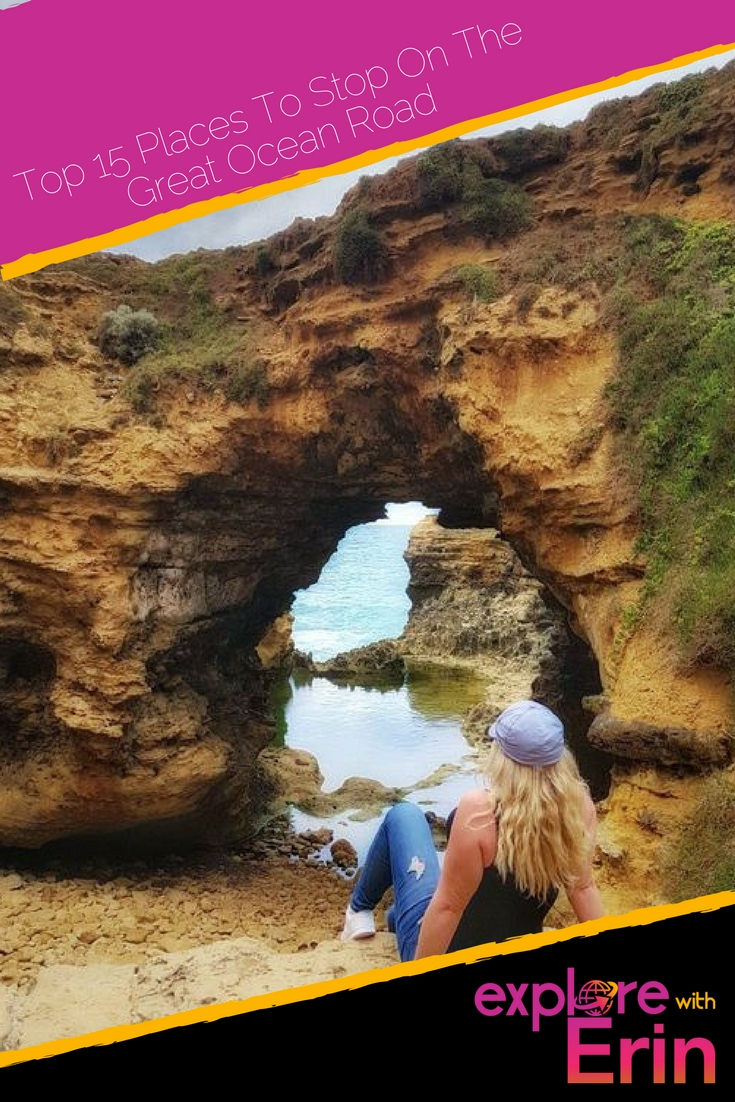 Pin This - 15 Places To Stop on The Great Ocean Road. Have you been?
