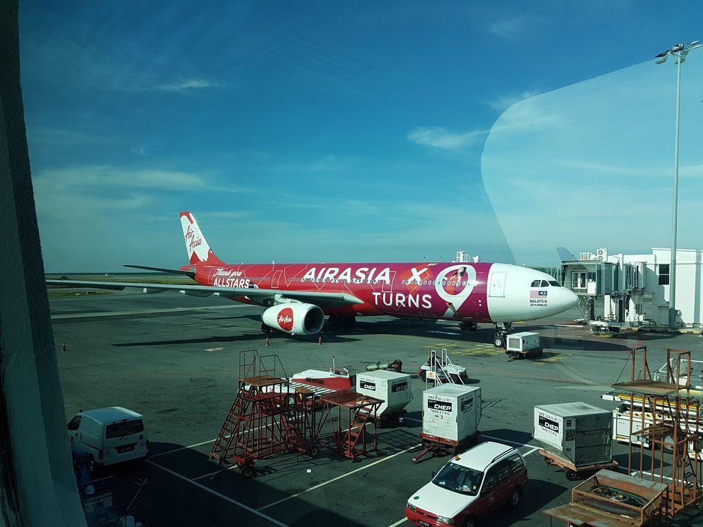 Kuala Lumpur layover - Air Asia