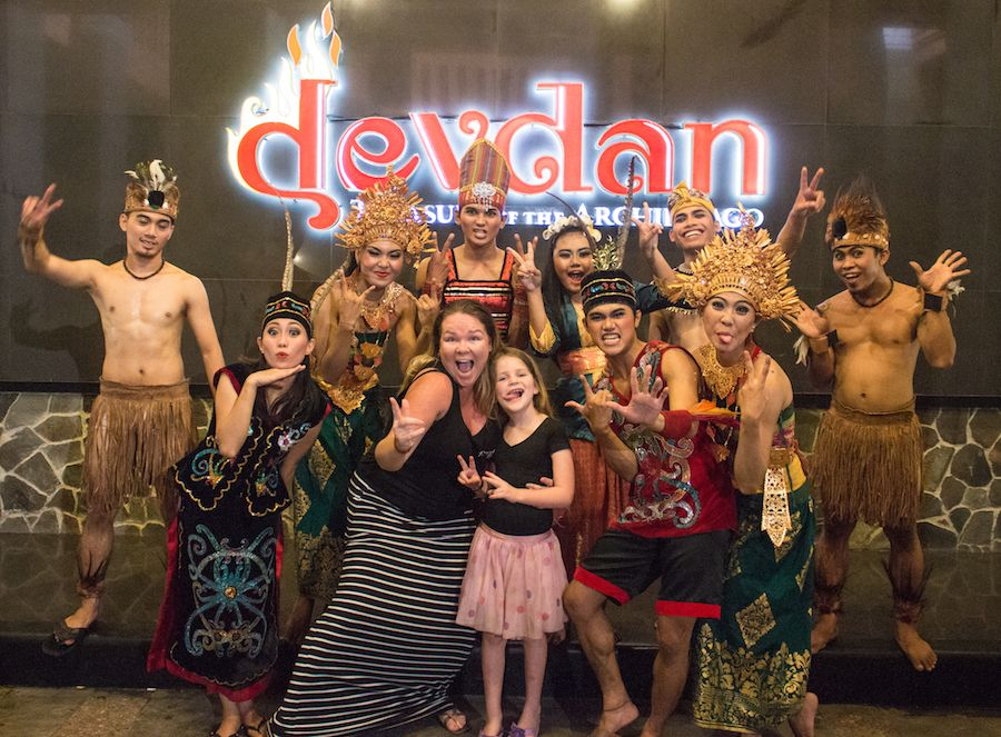 Bali With Kids: Devdan Show
