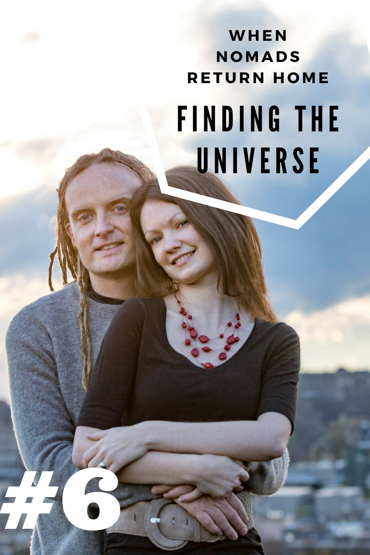 Pin this - Laurence from Finding The Universe no longer a nomad!