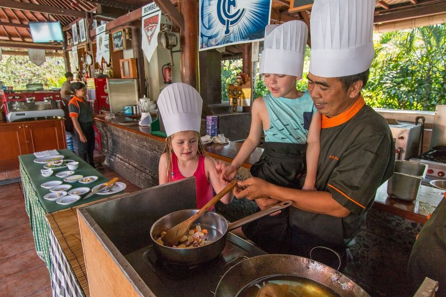 Bali With Kids: Cooking classes
