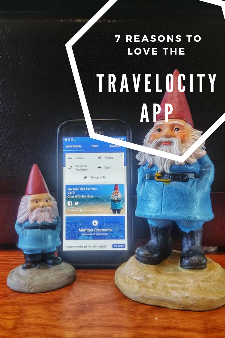 Pin This - The Cheapest Hotels I found are on the Travelocity App. Experienced blogger finds a winner!