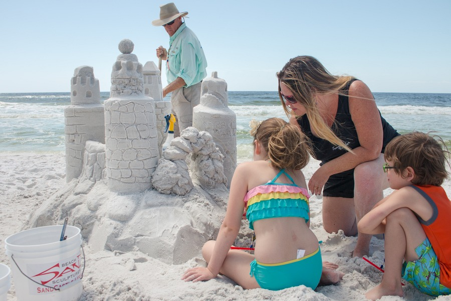 US Destinations - Sandcastles in Florida