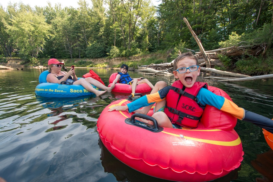 US Destinations - Tubing in New Hampshire