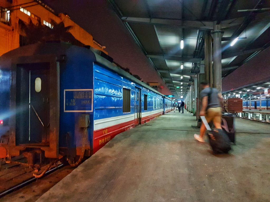 Vietnam Overnight Train - train