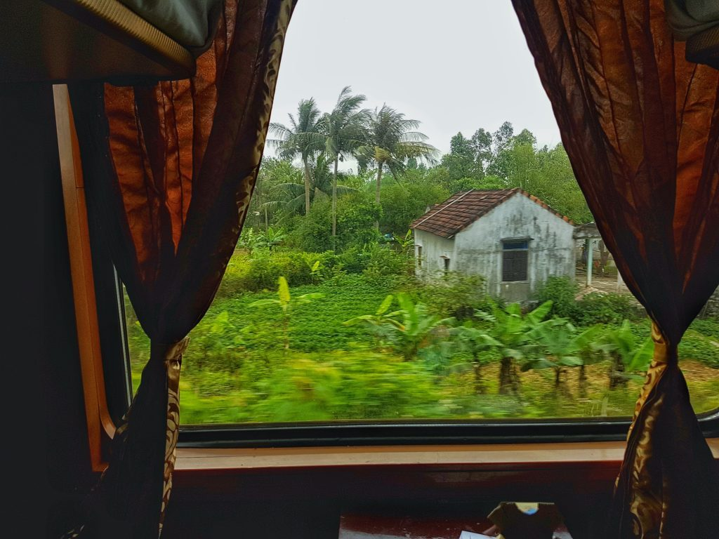 Vietnam Overnight Train view