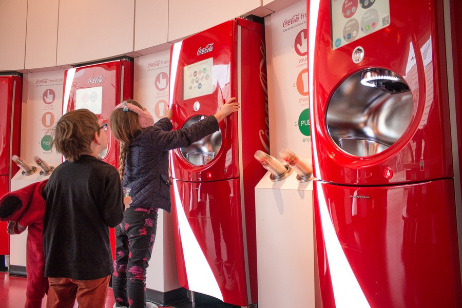 Things To Do In Atlanta With Kids - Coke