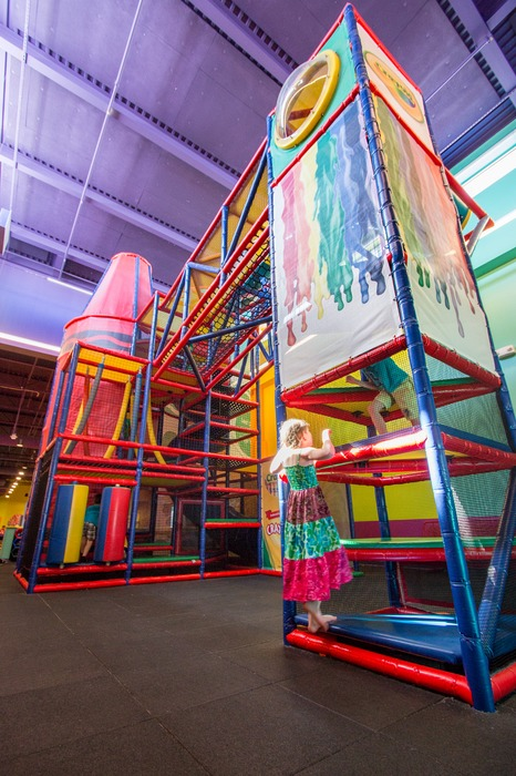 Visit Crayola Experience Orlando  - playground