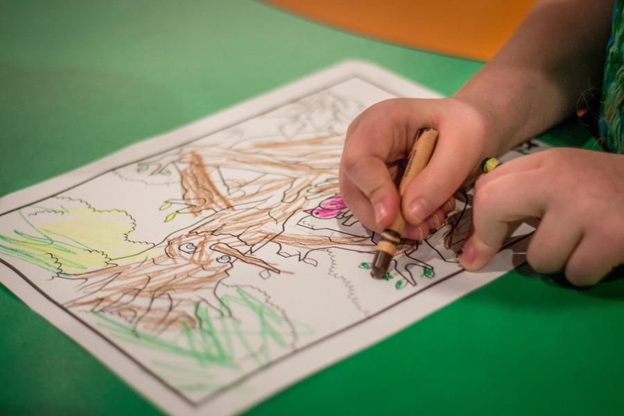 Visit Crayola Experience Orlando - color