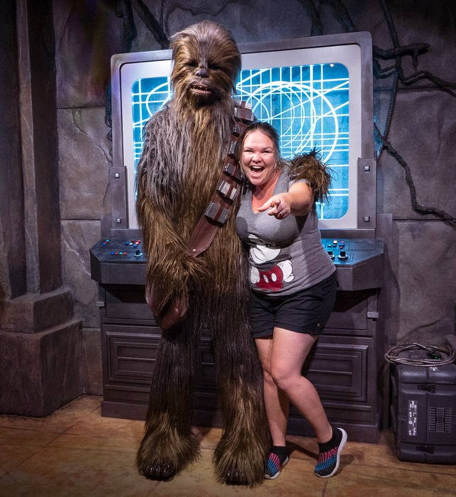 Disney VIP Tours - CHewbacca
