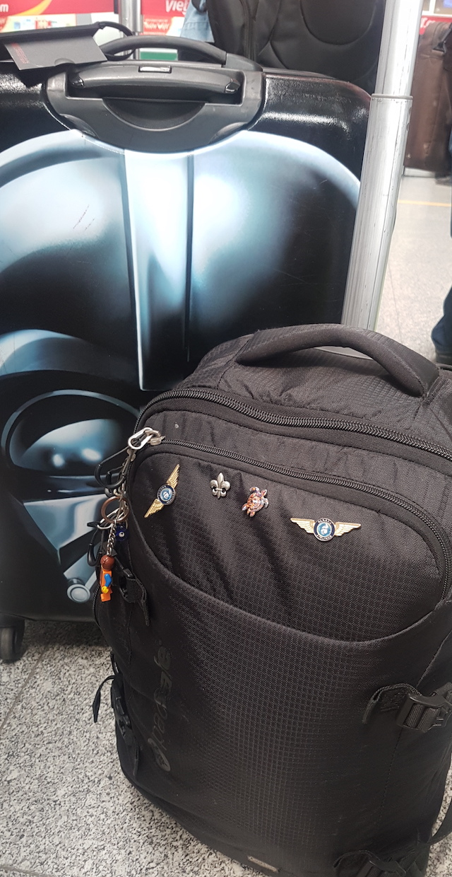 Stylish Airport Accessories - carryon