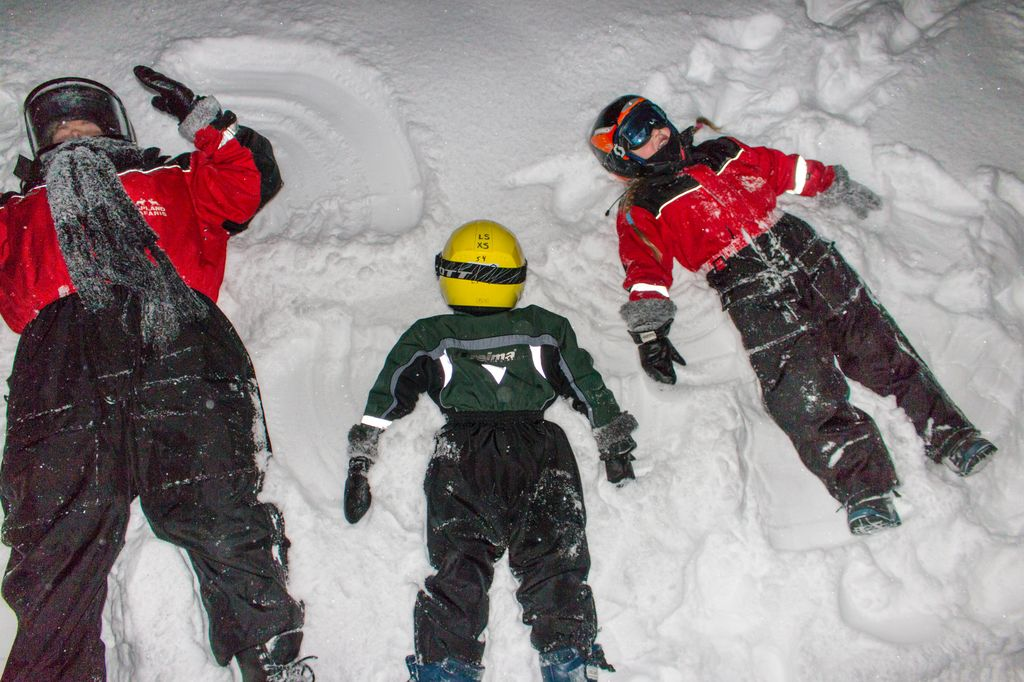 Lapland, Finland: The Ultimate Family Christmas Destination - snow angels
