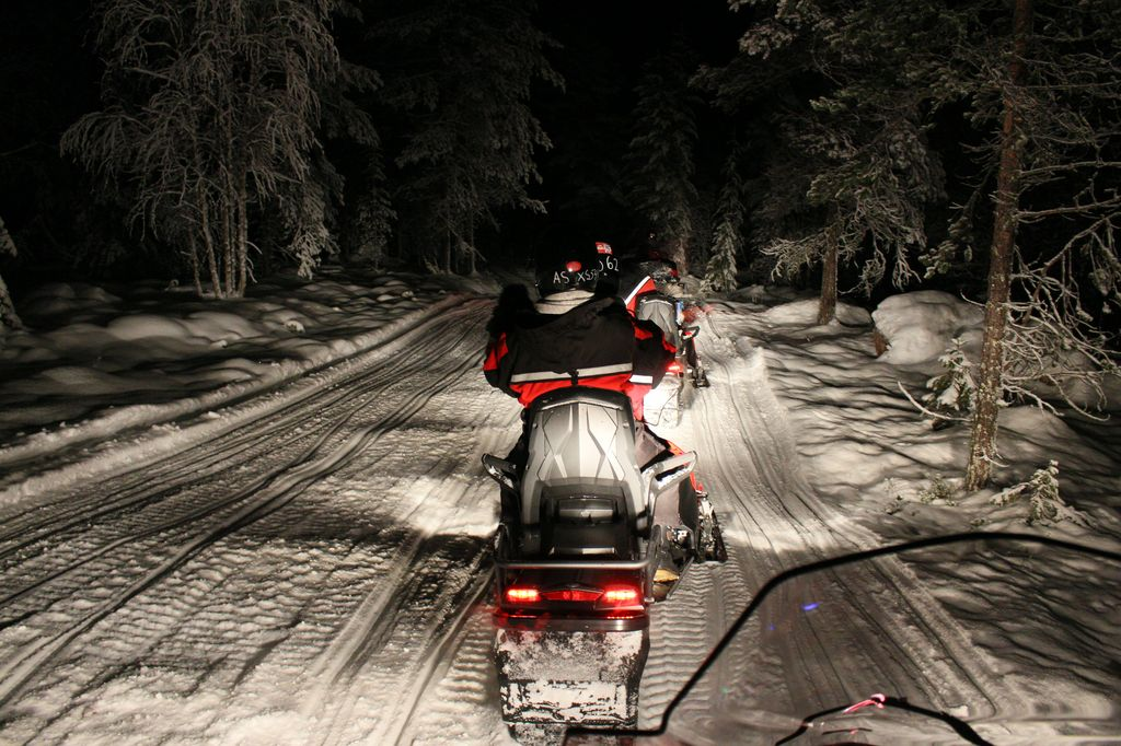 Lapland, Finland: The Ultimate Family Christmas Destination - snowmobile