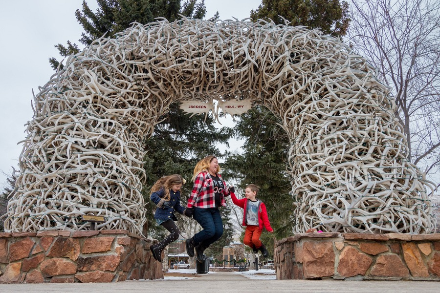 Jackson Hole Family Snow Vacation - Antler