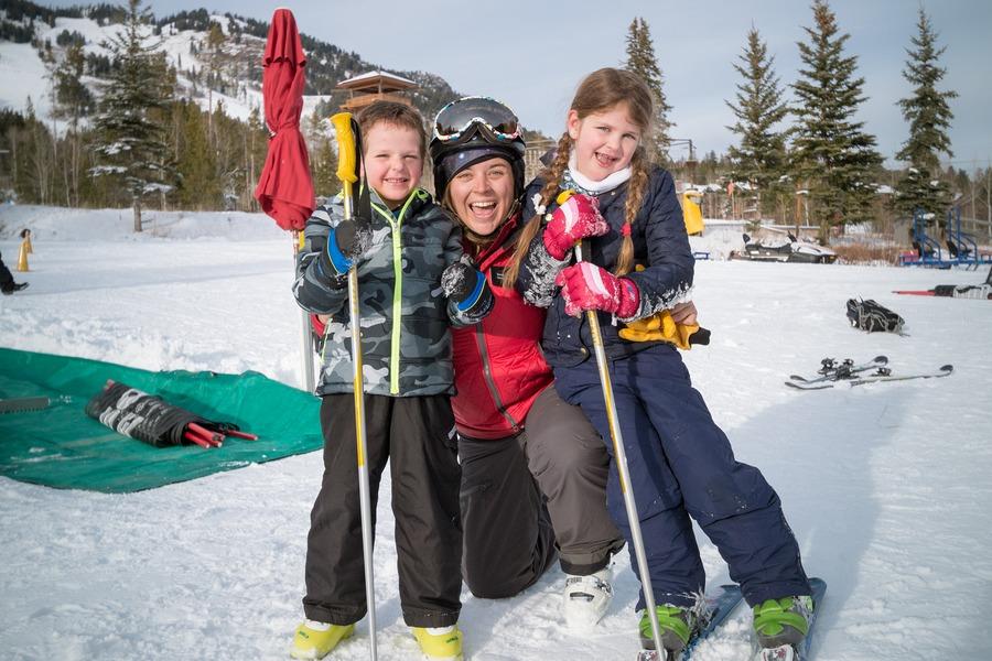 Jackson Hole Mountain Resort - kids ski