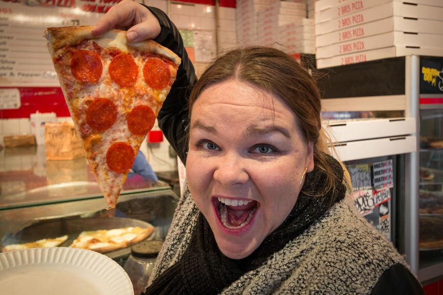 Things To Do In New York With Kids - pizza