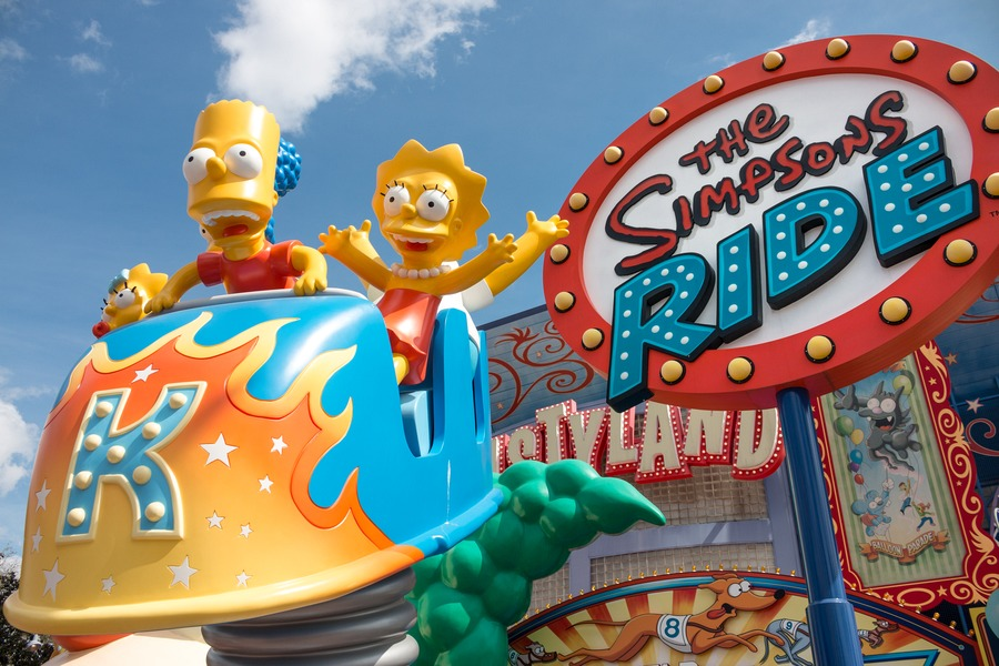 Guide To Universal Studios Orlando - Simpsons Ride