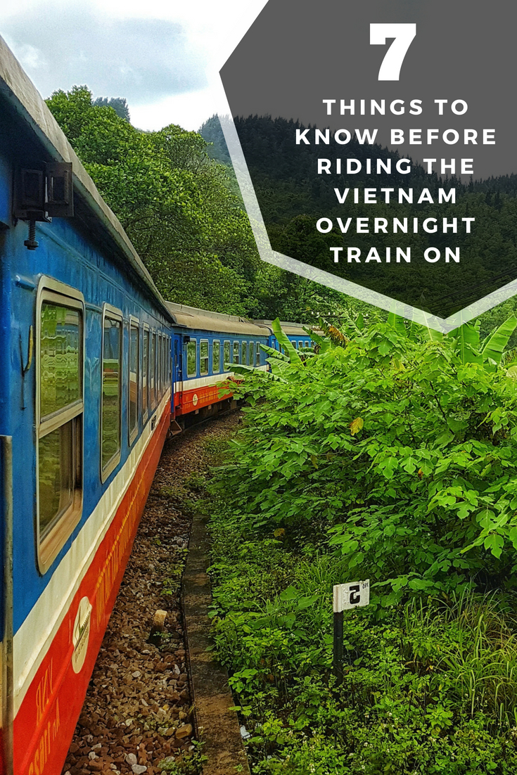 The Vietnam Overnight Train - an experience you may want to miss.