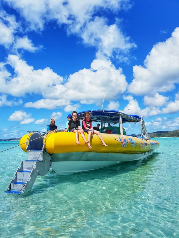 Whitsundays family vacation - Ocean Rafting