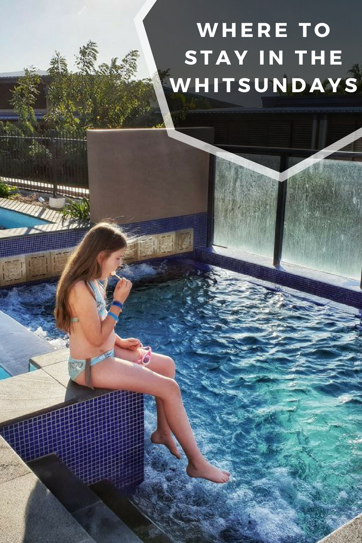 Pin this for 3 of the best family accommodation choices in the Whitsundays