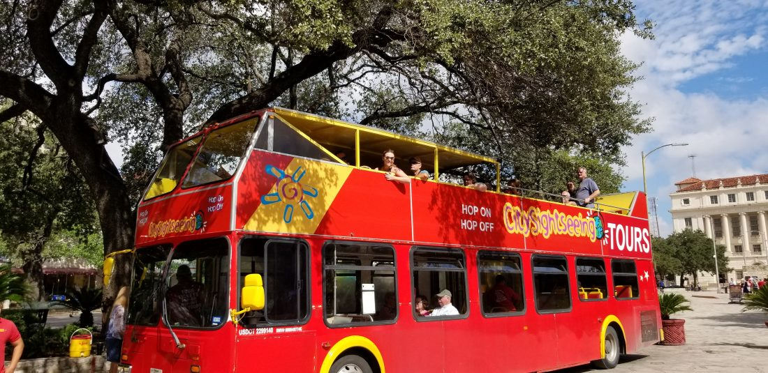 San Antonio - Hop on hop off bus