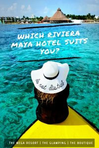 Finding a place to stay in Riveria Maya is easy with our three choices. Are you the Mega Resort type in Cancun? The Glamping type in Akumal? Or the Boutique type in Playa Del Carmen? Pin this for easy reference to explorewitherin.com