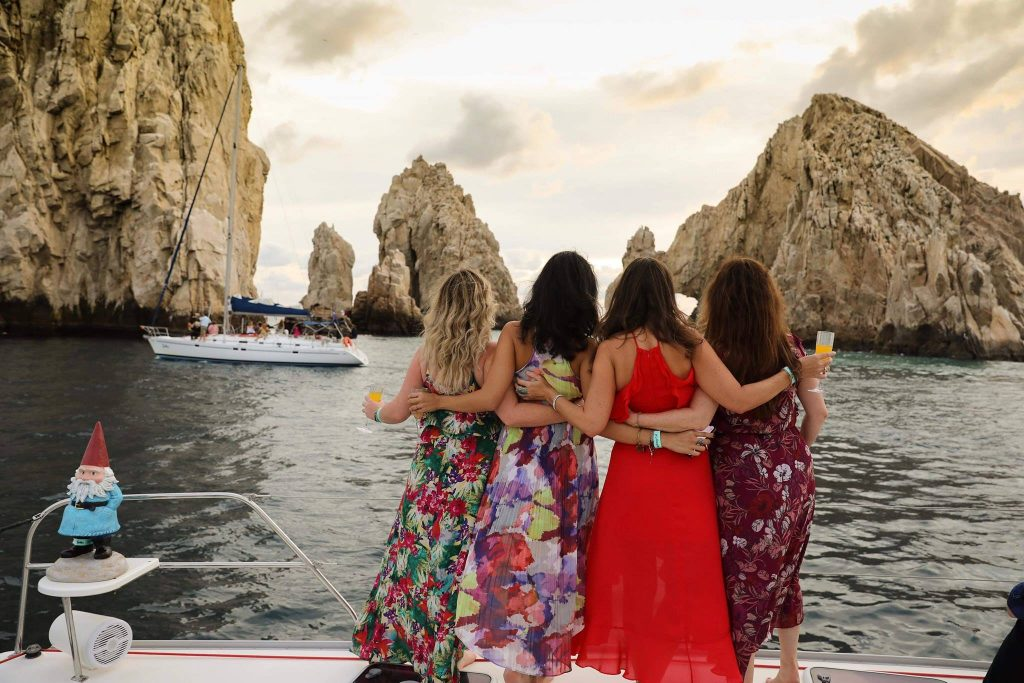 3 best beach adventures in Cabo - Sunset sail to Cabo Arch