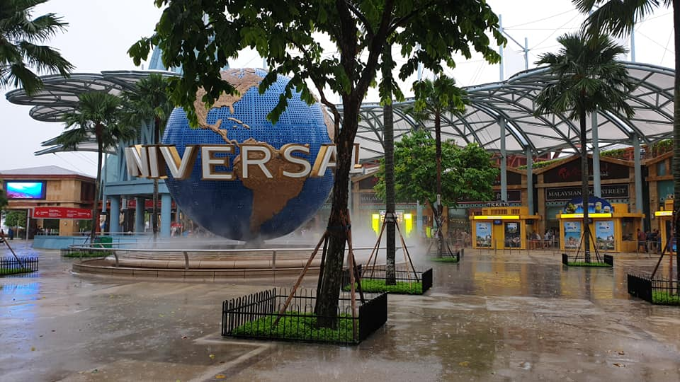 things to do with kids in Singapore - Universal Studios