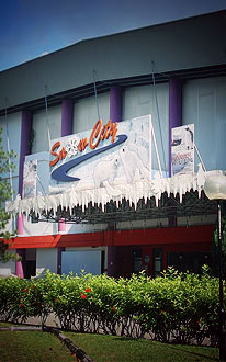 things to do with kids in Singapore - snow city