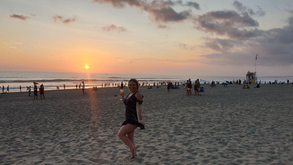 Kids Fit On Vacation - sunset walks in Seminyak