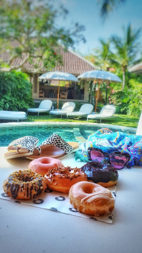 Kids Fit On Vacation - Donuts by the pool