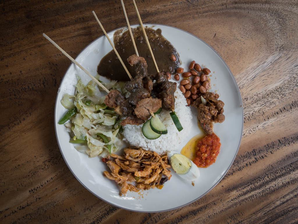 Top 10 Bali Foods You Must Try - Nasi Campur