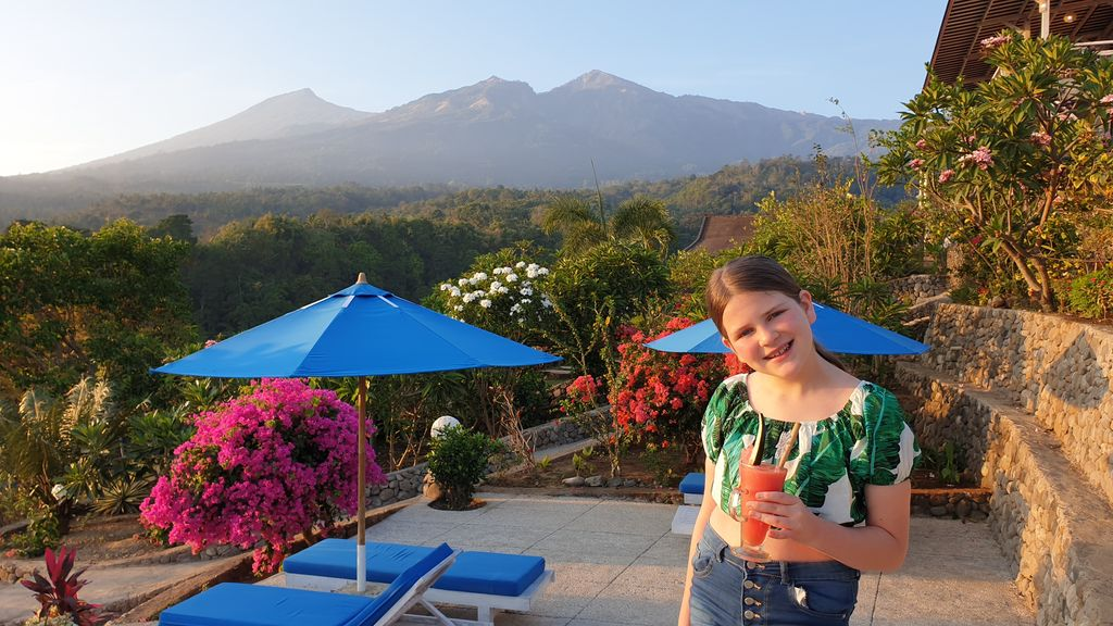 Guide To Lombok (From Bali) Mt Rinjani pool