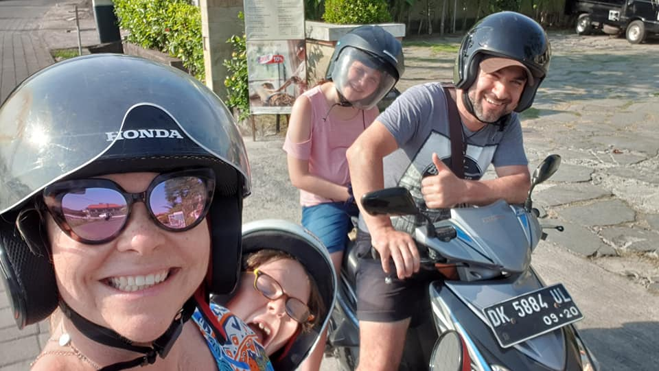 Driving In Bali scooter ride
