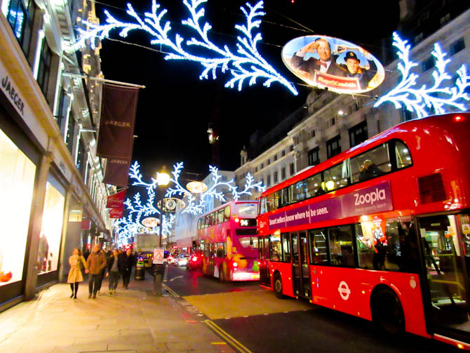 Magical Christmas Destinations - London
