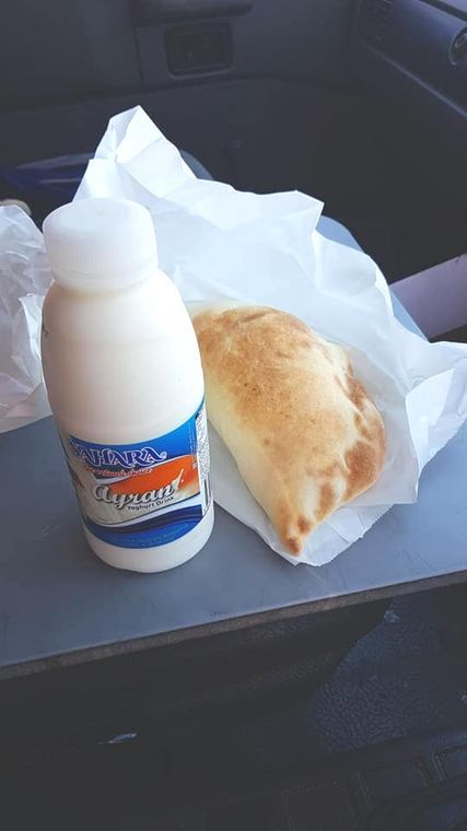 Turkish food - ayran