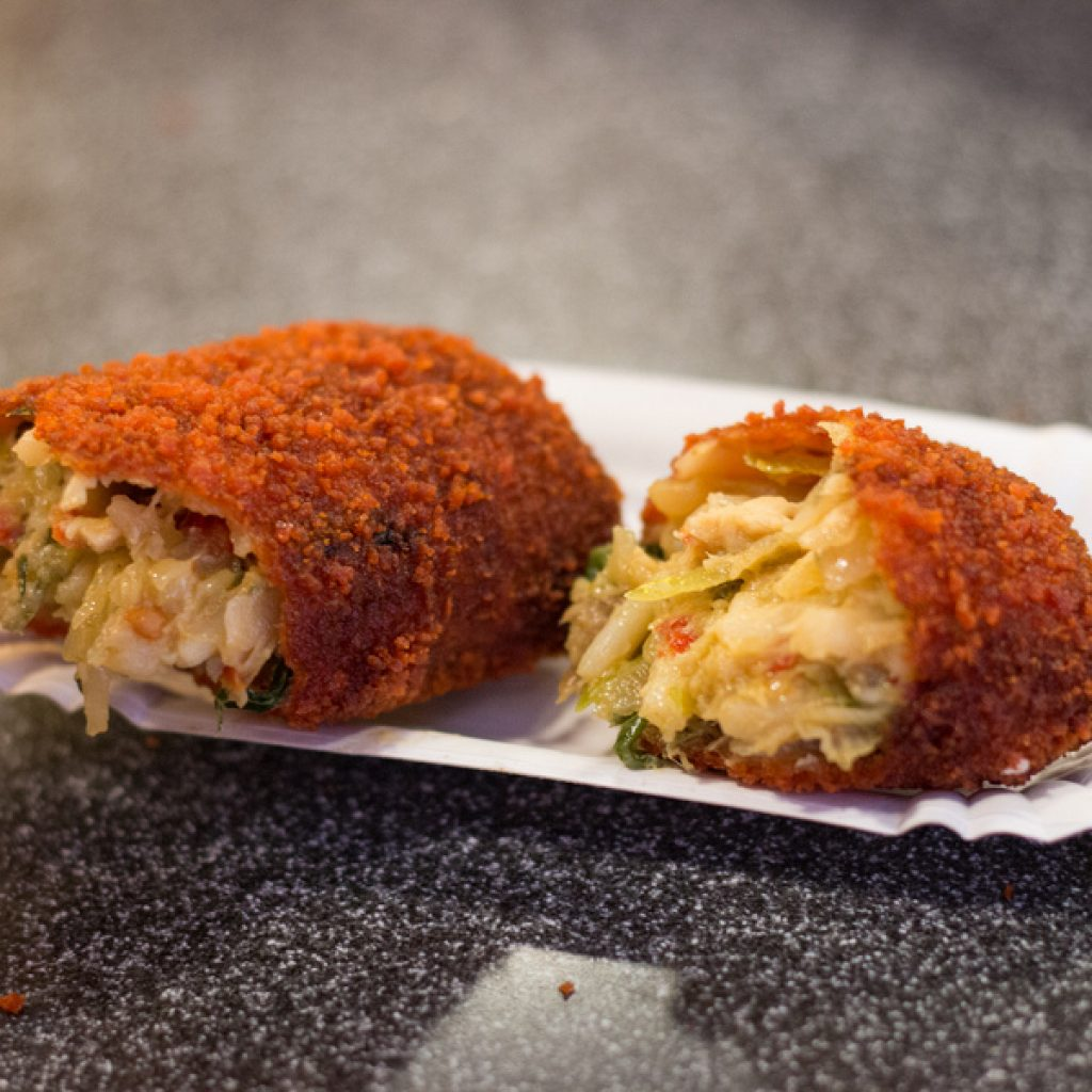Dutch food Netherlands- croquette
