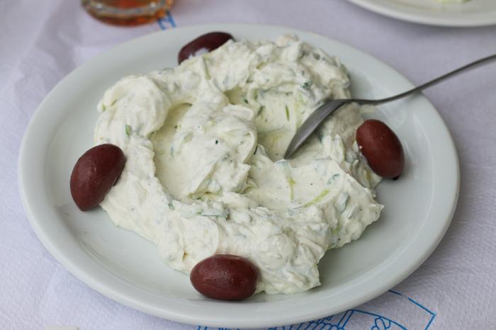 Food to eat in Greece - tzatziki