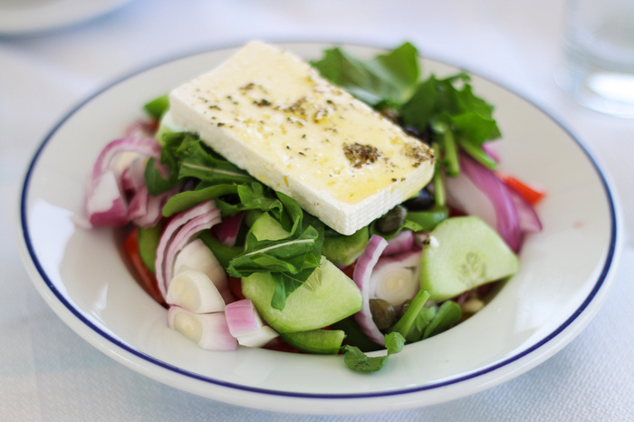 Food to eat in Greece - salad